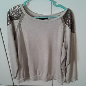 Gold Long Sleeved Top